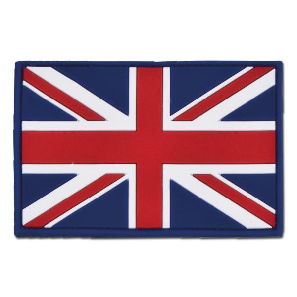 3D-Patch Großbritannien Fahne fullcolor