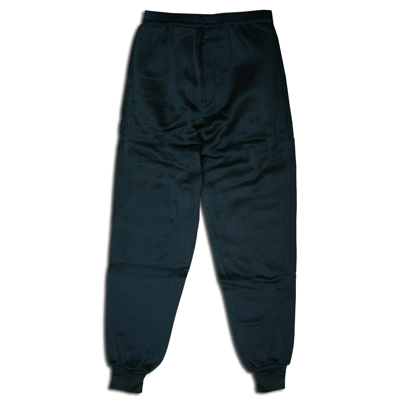 Unterhose lang Polyester schwarz