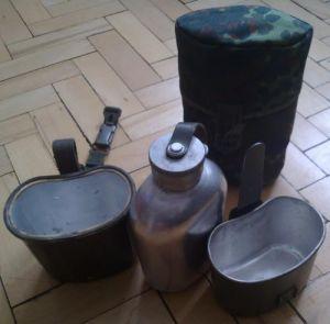 BW Feldflasche 3-tlg gebraucht