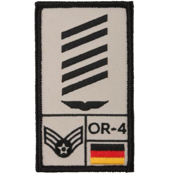Café Viereck Rank Patch OSG Luftwaffe sand