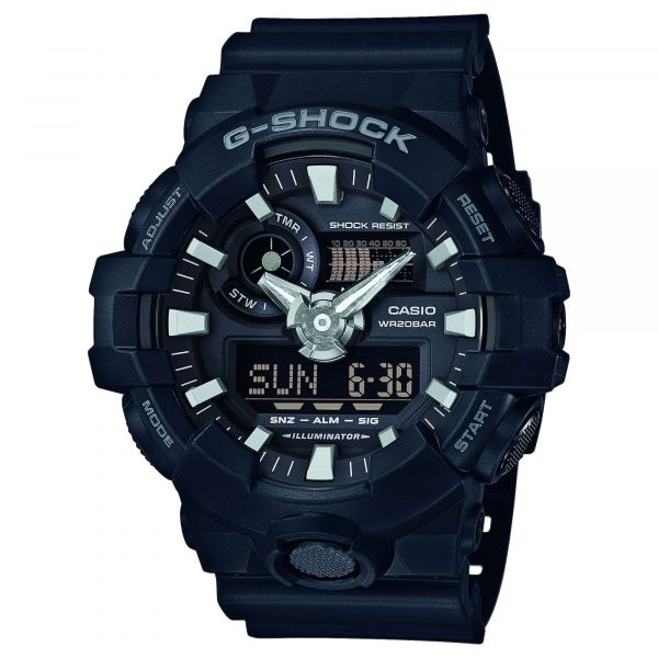 Casio Uhr G-Shock Classic GA-700-1BER schwarz
