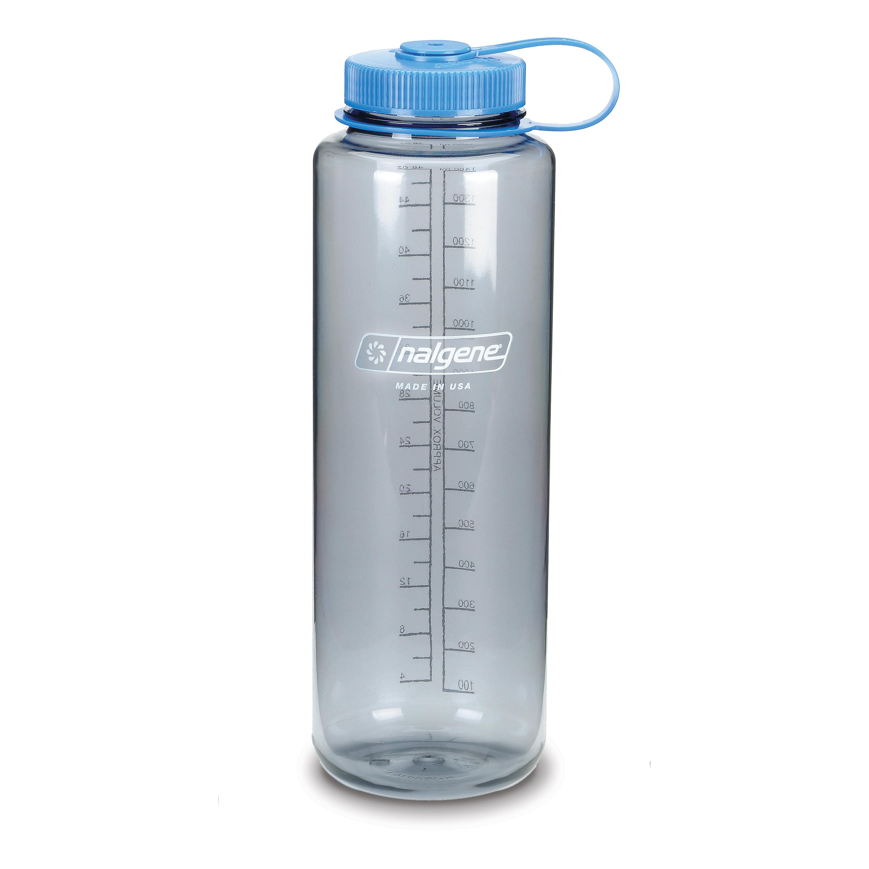 Nalgene Trinkflasche Everyday Weithals Silo 1.5 L grau