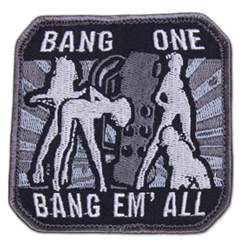 MilSpecMonkey Patch Bang One Bang Em All large swat