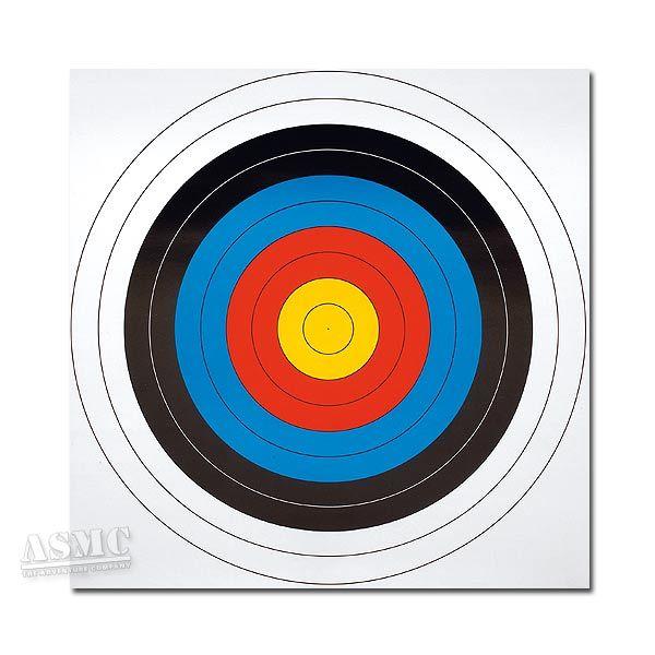 Zielscheibenauflage 63 x 63 cm 5er Set