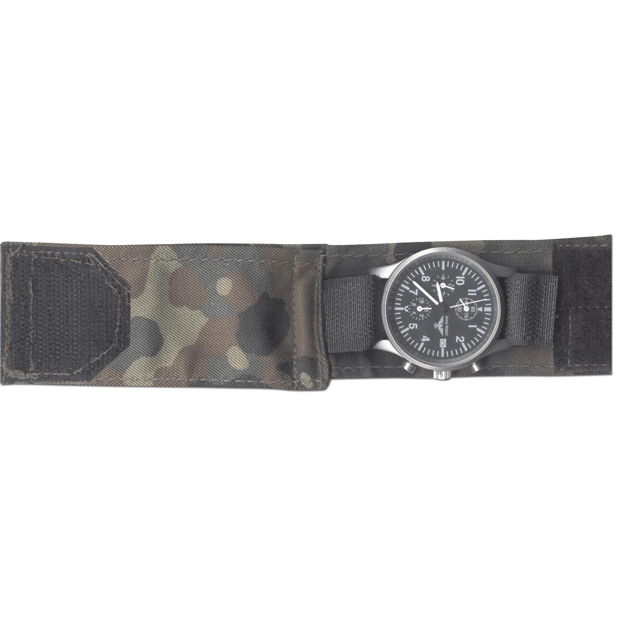 Uhrenarmband Commando flecktarn