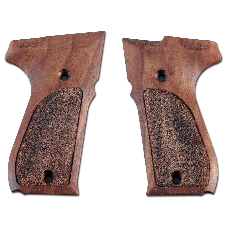 Griffschalen Umarex für Walther P88 Holz
