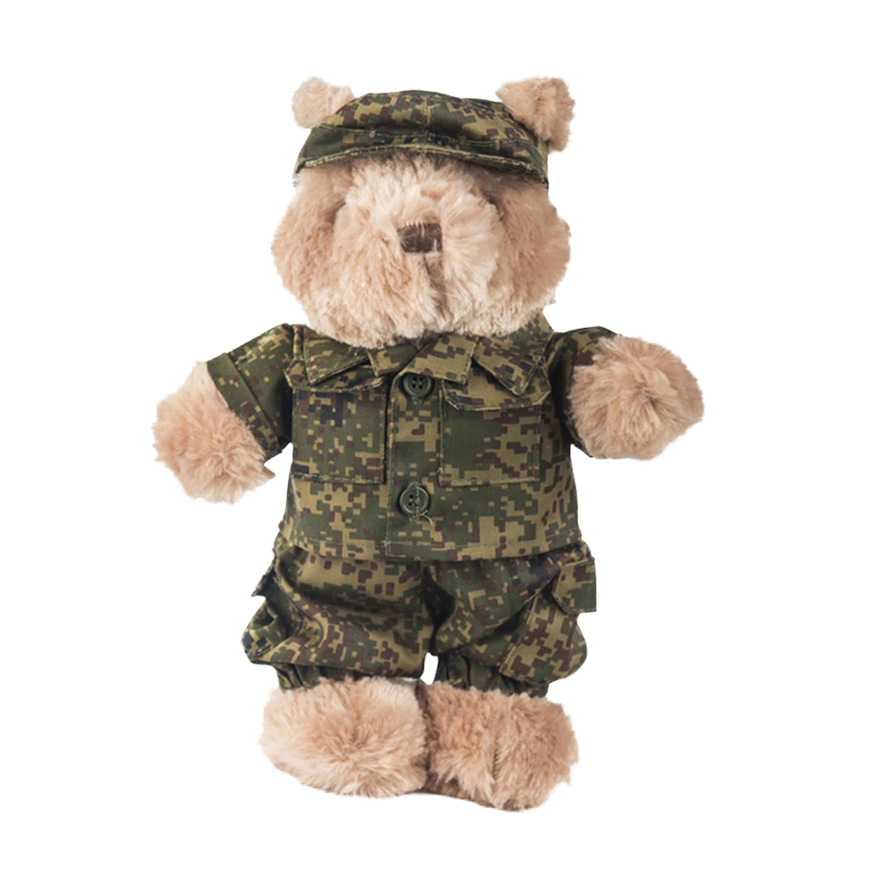 Teddyanzug klein russisch digital tarn
