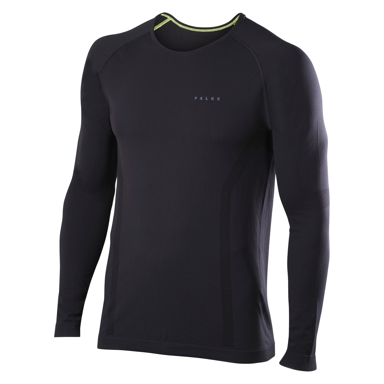 FALKE Longsleeved Shirt Comfort schwarz