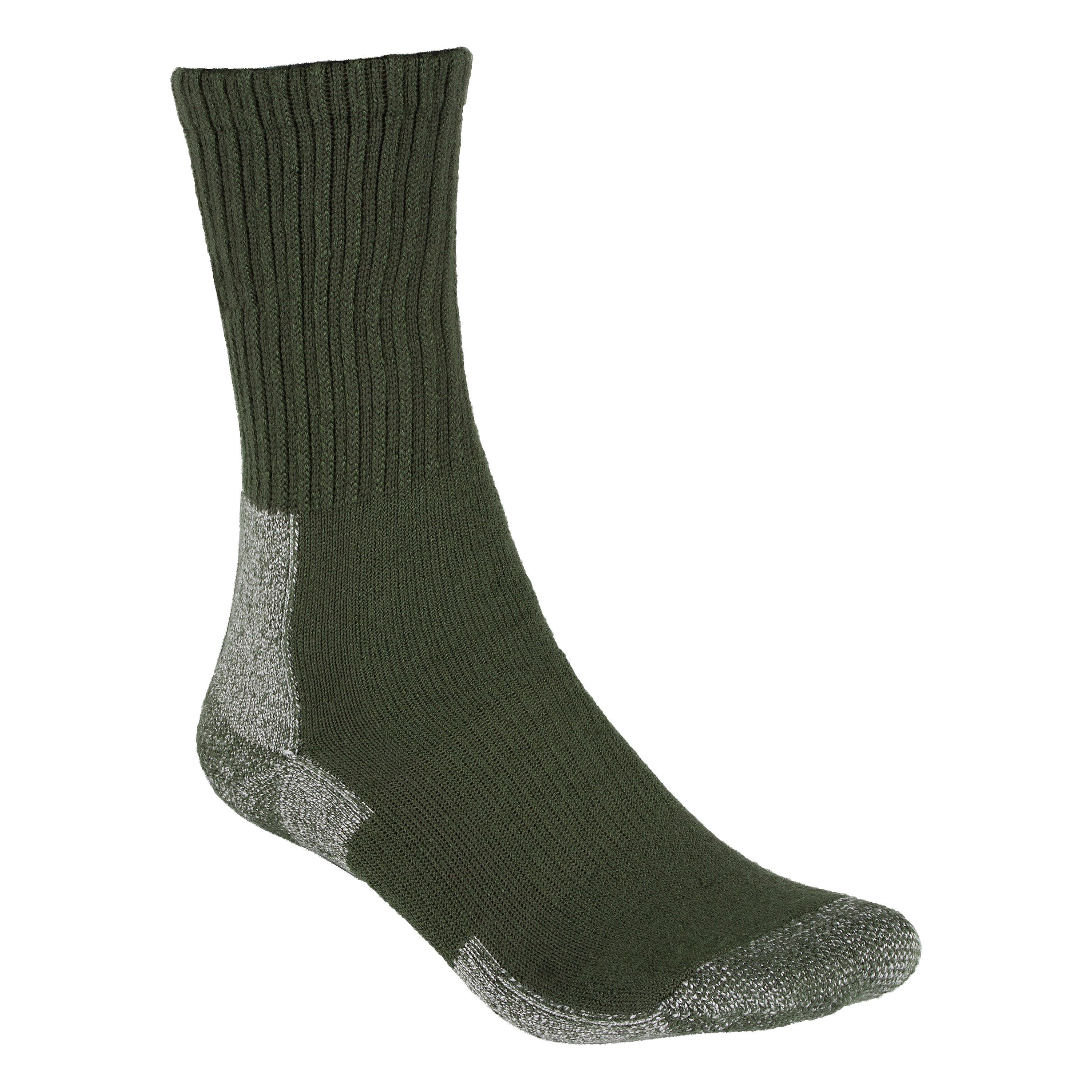 Thorlo Socken Trail Hiking Moderate Cushion schwarz forest green