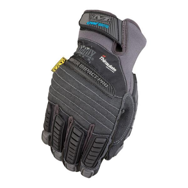 Handschuhe Mechanix CW Winter Impact Pro schwarz