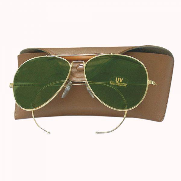 Sonnenbrille grüne Gläser