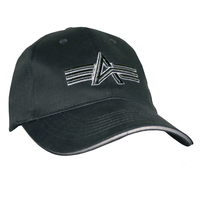 Baseball Cap Alpha Industries schwarz