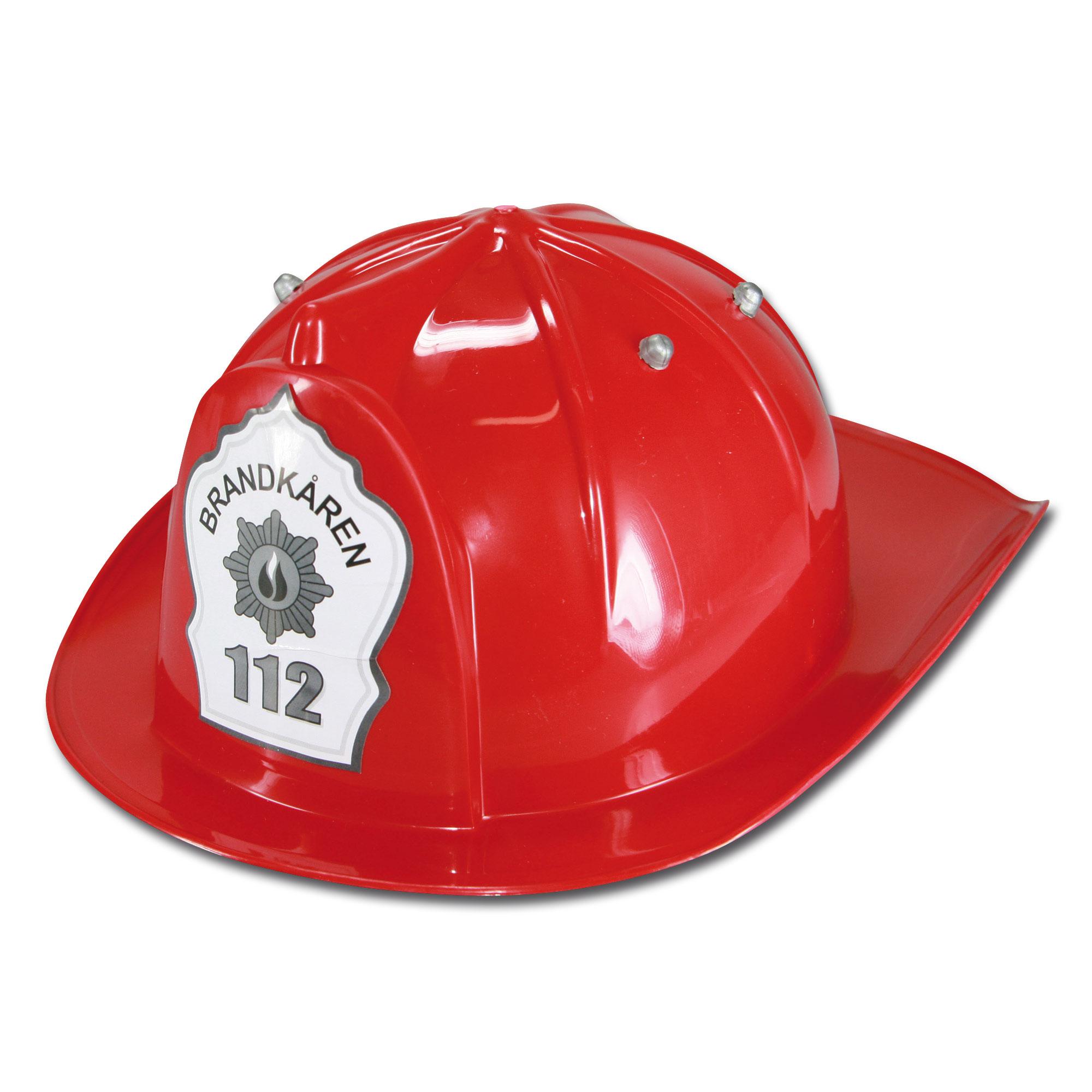 Kinder Feuerwehrhelm rot