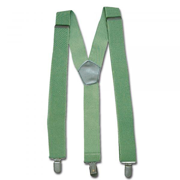 Hosenträger mit Clip oliv