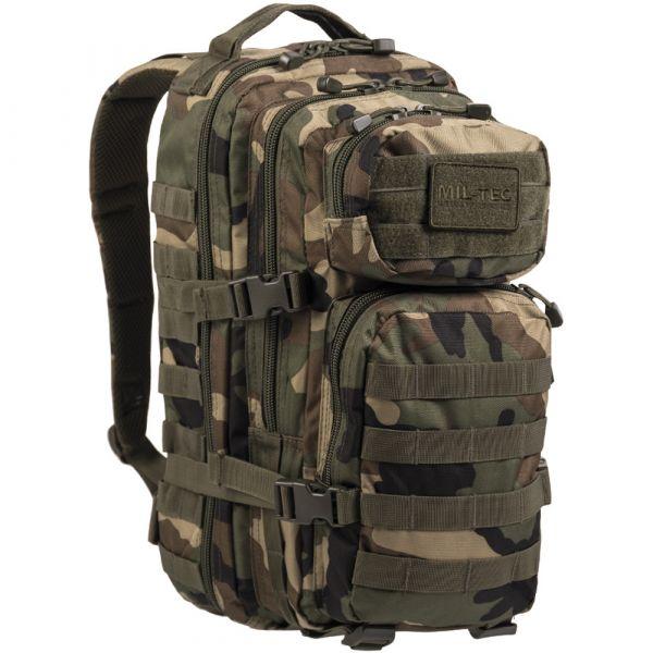 Rucksack US Assault Pack woodland