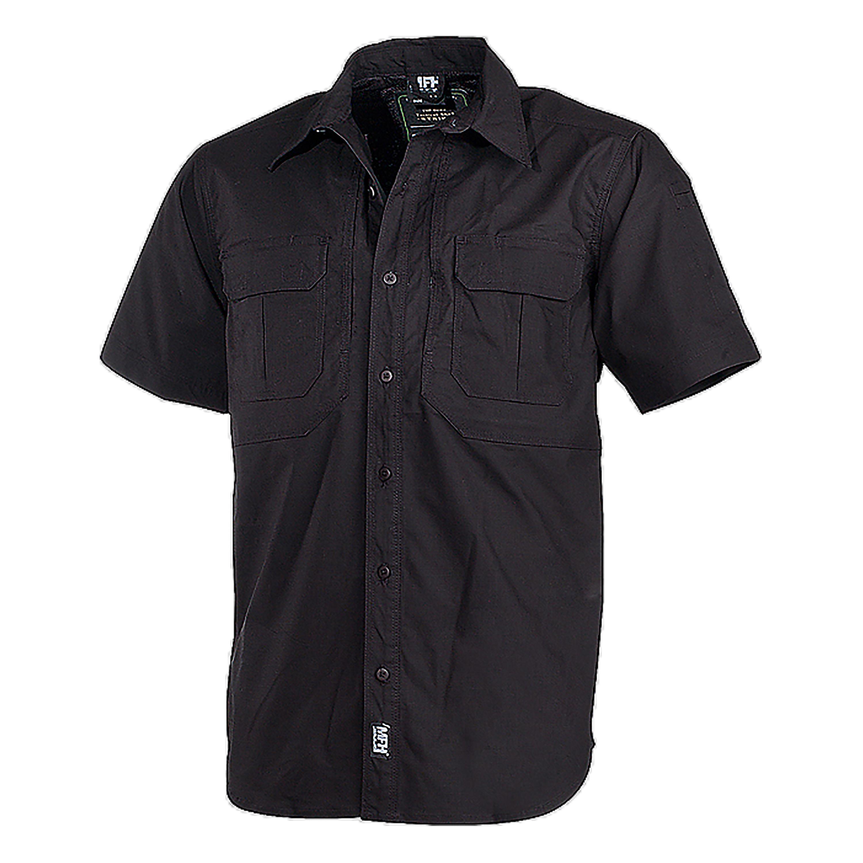 MFH Tactical Hemd kurzarm Strike schwarz