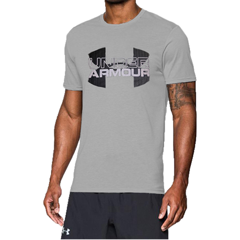Under Armour T-Shirt DFO Velocity Logo grau