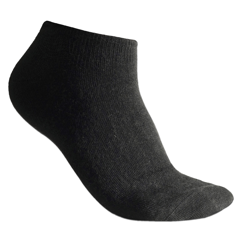 Woolpower Liner-Socke schwarz