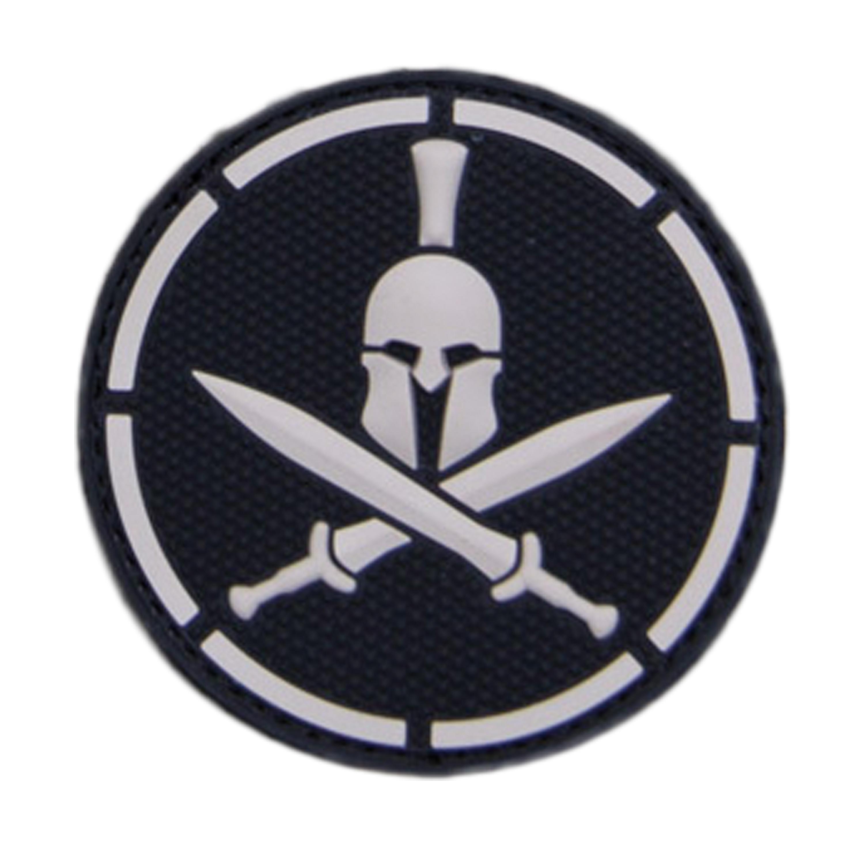 Patch Spartan Helmet PVC swat