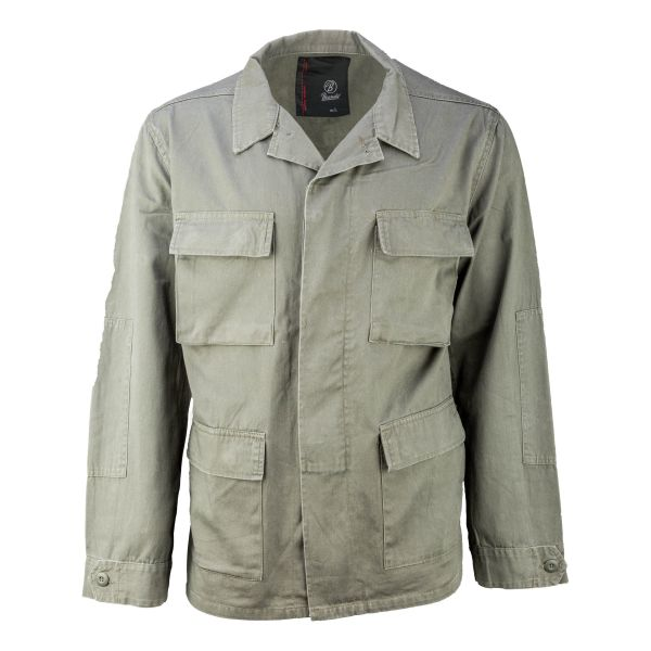 Brandit Jacke BDU Twill Jacket oliv