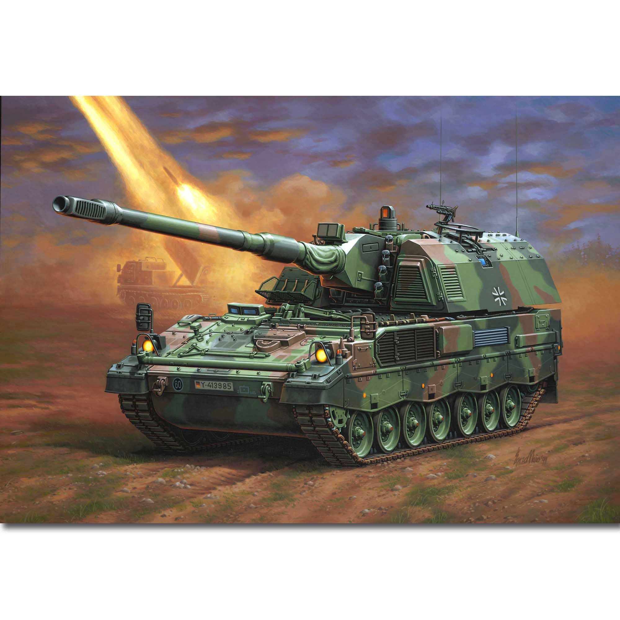 Revell Panzerhaubitze 2000 1:35