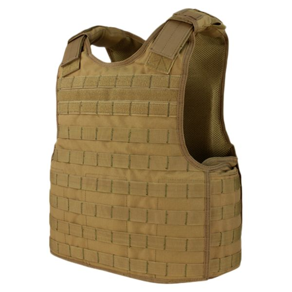 Condor Defender Plate Carrier coyote braun