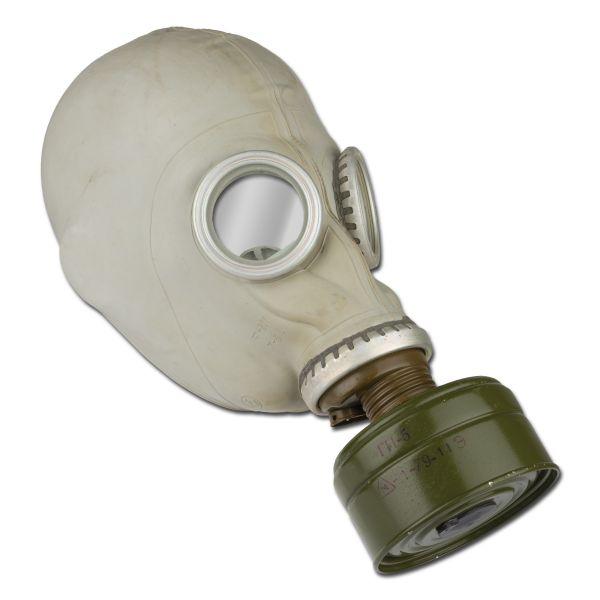 Russische Schutzmaske M41 grau gebraucht
