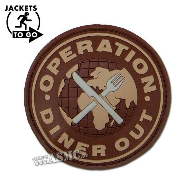 3D-Patch Operation Diner Out desert