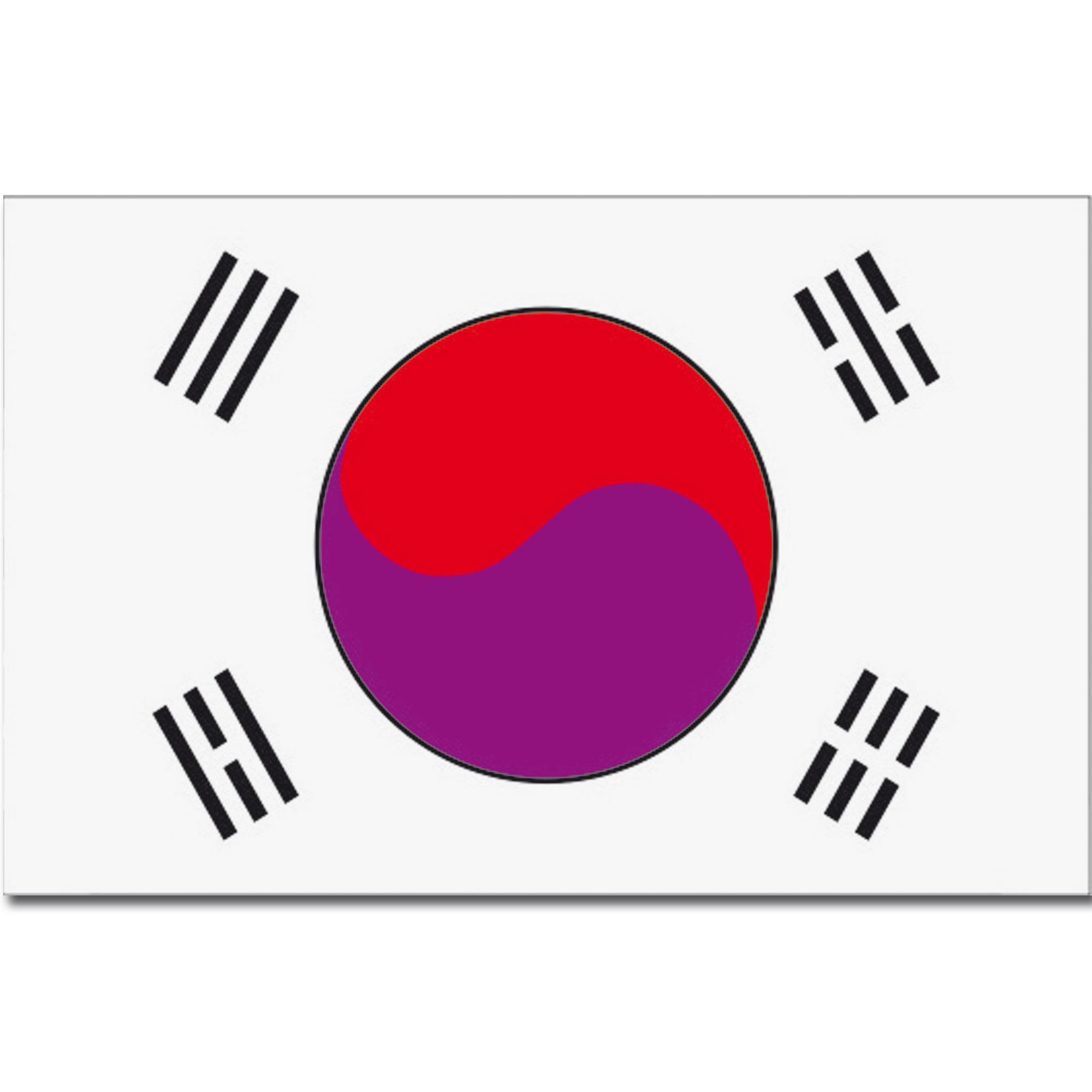 Flagge Korea (Süd)
