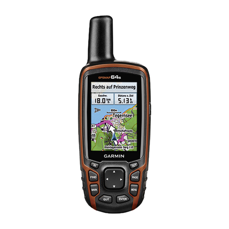 Garmin GPSMAP 64s + TopoDeutschland V7 PRO Bundle microSD