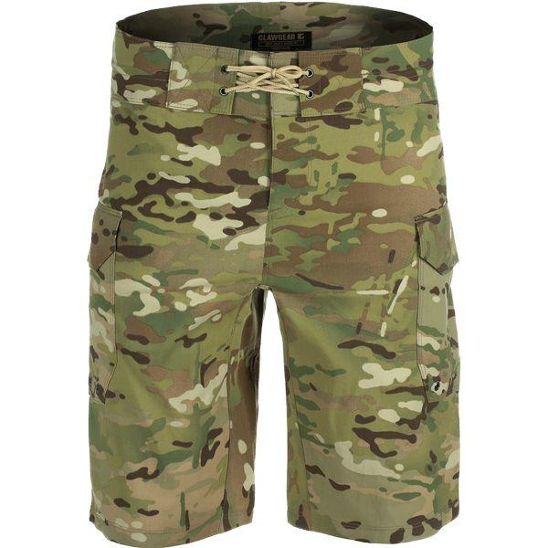 ClawGear Badehose Off-Duty Shorts multicam