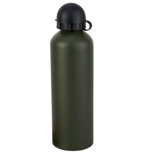 Trinkflasche Alu oliv 0,75 Liter