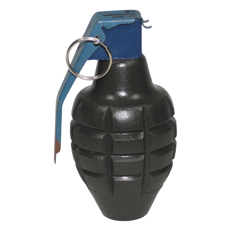 Handgranate MK 2 oliv Holz Deko