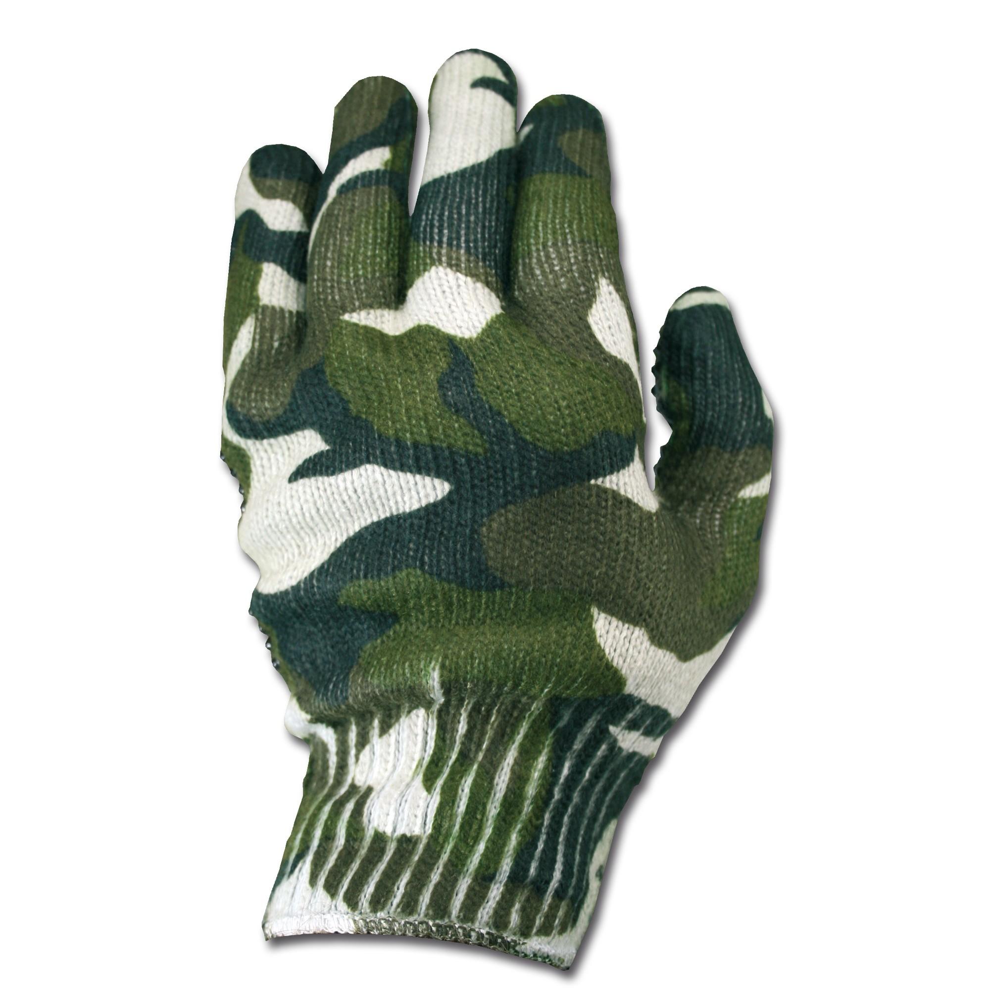 Handschuhe Spandoflage woodland