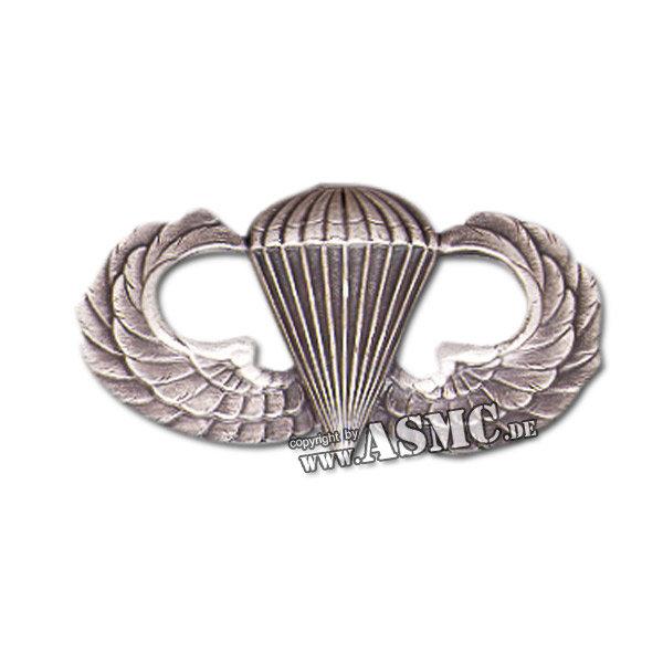 Abzeichen Springer Metall US Basic Para silber