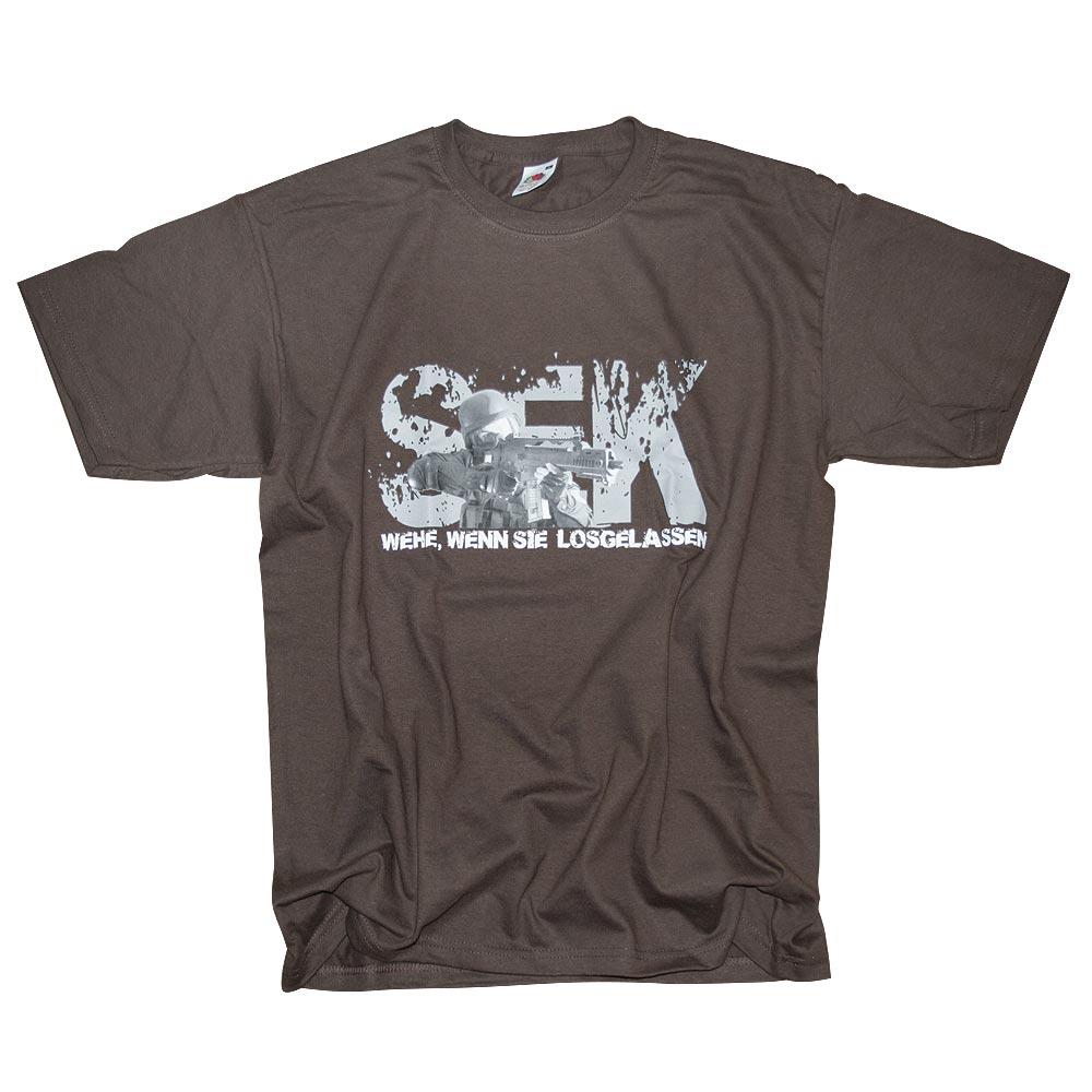 T-Shirt SEK Milty69 braun