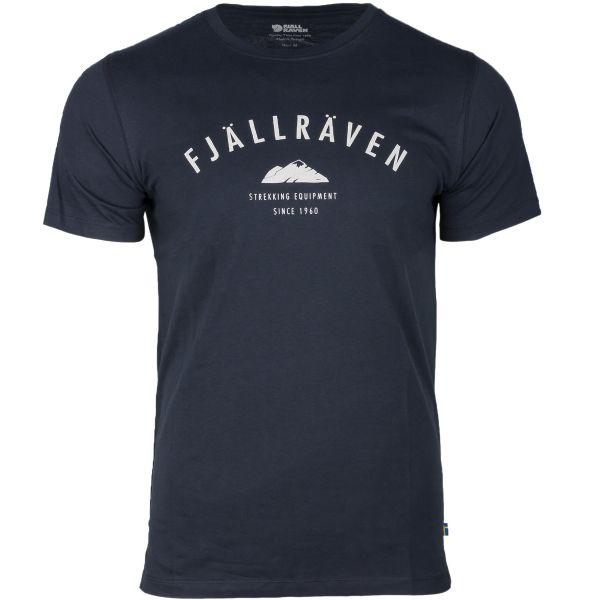 T-Shirt Fjällräven Trekking Equipment dunkel-blau