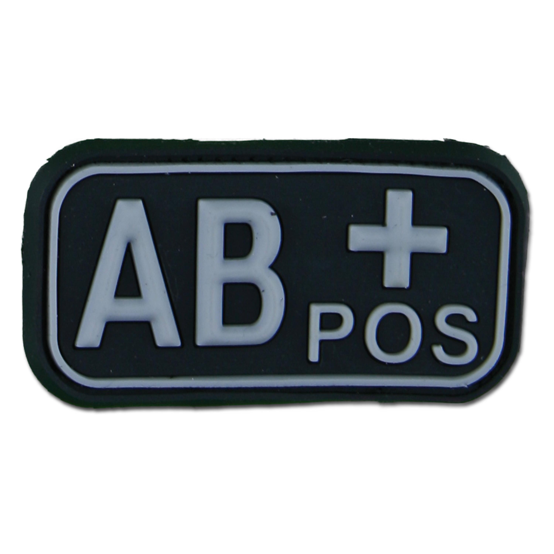 3D Blutgruppenpatch AB Pos swat