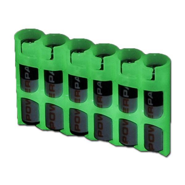 Batteriehalter Powerpax SlimLine 6 x AAA nachleuchtend