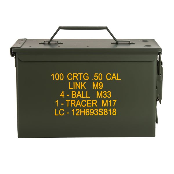 US Ammo Box M2A1 Cal. 50 mm Import oliv