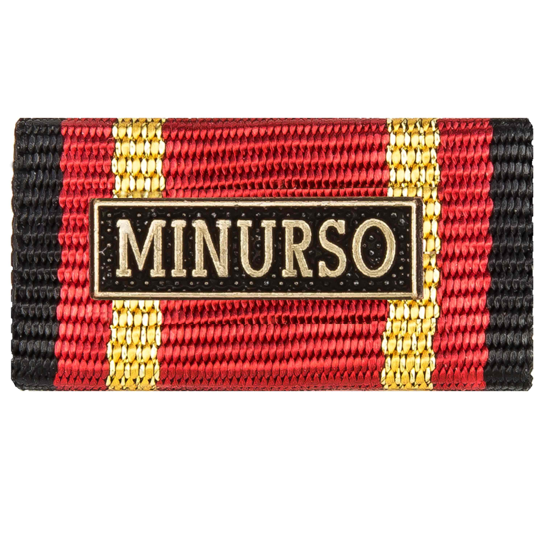 Ordensspange Auslandseinsatz MINURSO bronze