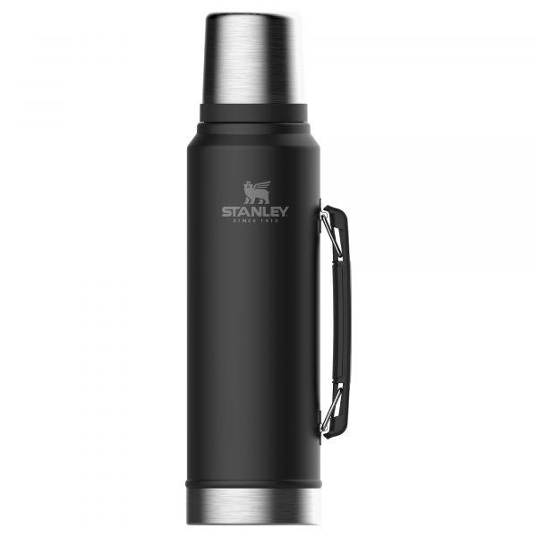 Stanley Isolierflasche Classic Vakuum 1 Liter schwarz