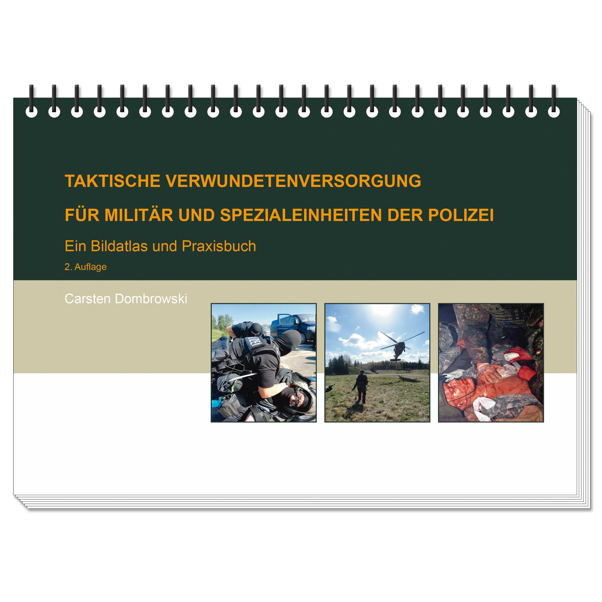 Buch TCCC - Taktische Verwundetenversorgung für Militär und Spez