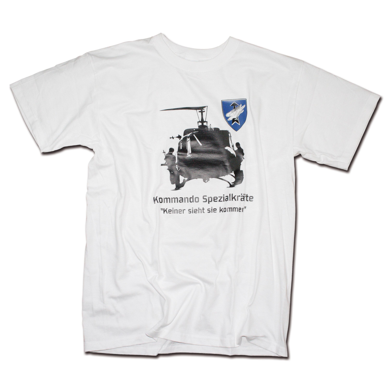T-Shirt Milty KSK weiss