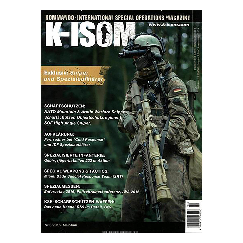 Kommando Magazin K-ISOM Ausgabe 03-2016