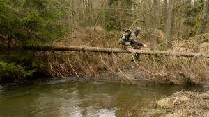 Gewässerüberquerung mit dem Raid