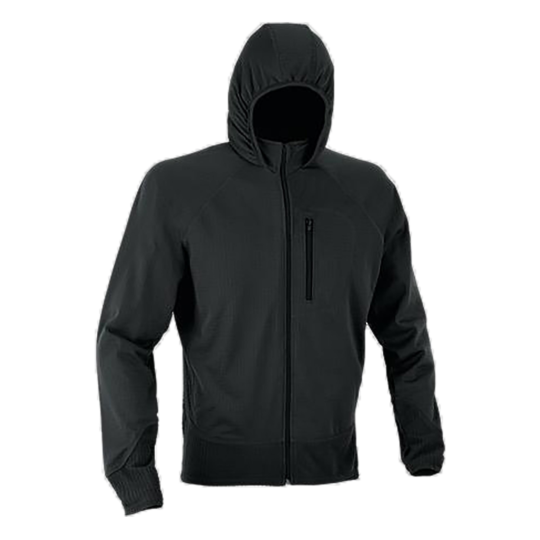 Defcon 5 Fleece Jacke Tactical mit Kapuze schwarz