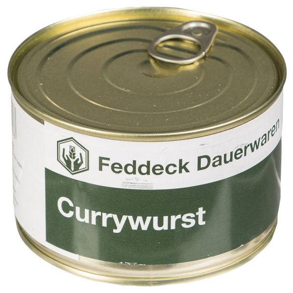 Vollkonserve Dose Currywurst 400 g