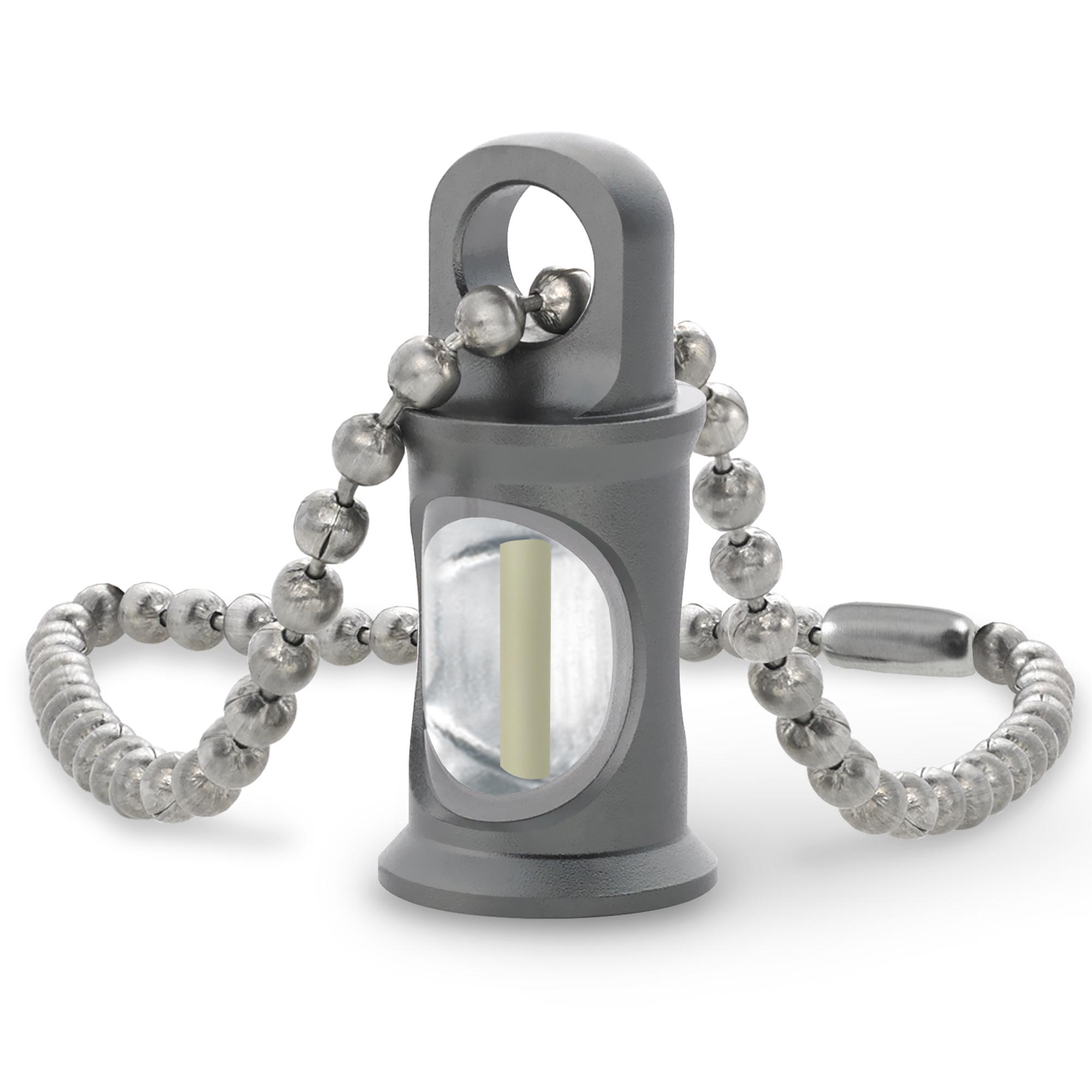 KHS Anhänger Trigatag mit Schlüsselkette grau