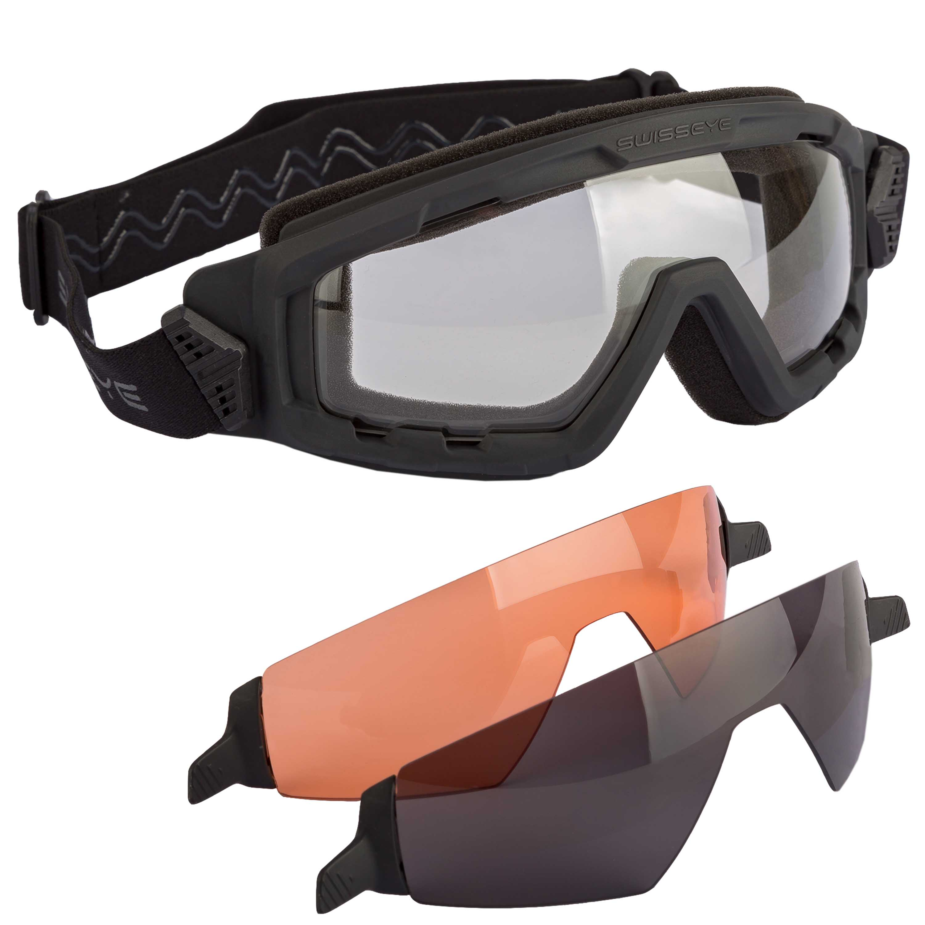 Swiss Eye Brille G-Tac schwarz